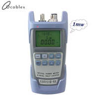 AUA 9 Laser Power FTTH Fiber Optic Optical Power Meter Cable Tester Free Delivery