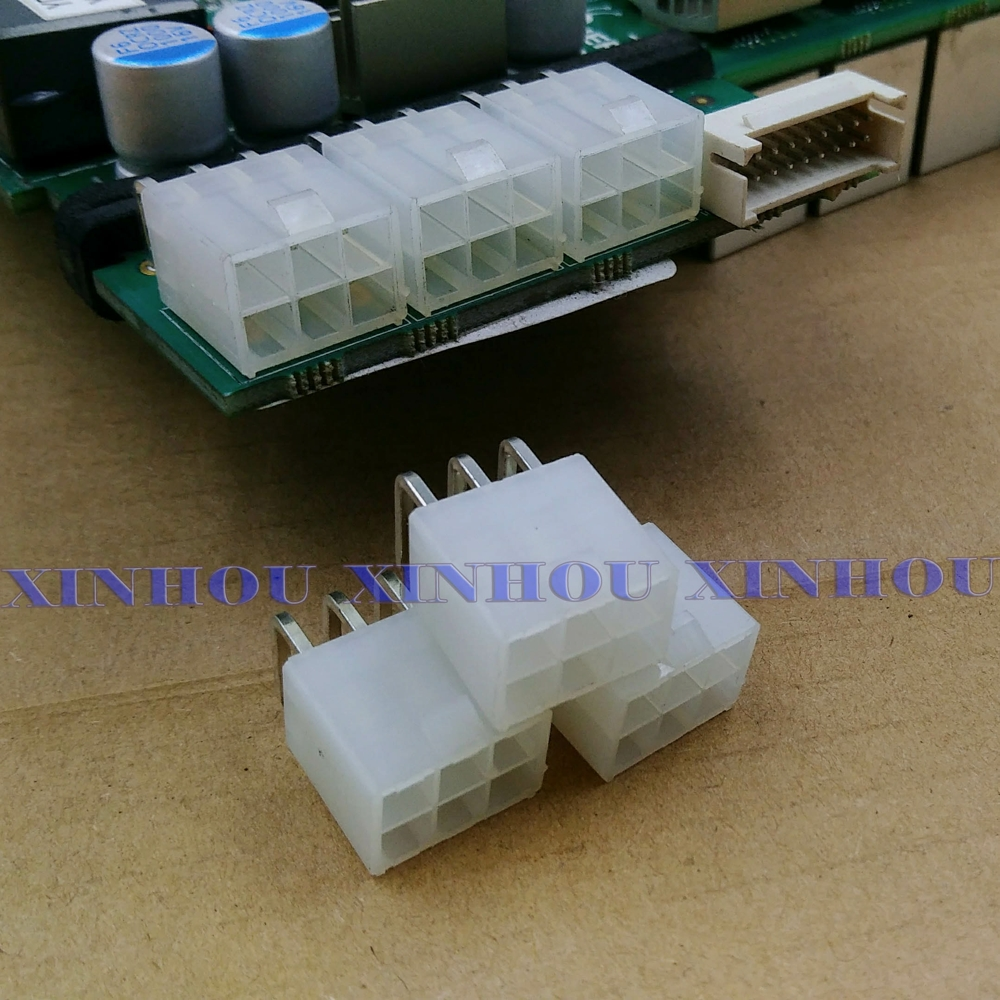 50pcs 6-pin Connector Power Connector Looper For Asic Miner Antminer S9 S9k S9j L3 DR3 T9 Z11 Z9 B7 X3 A4 A9 M3 Z1PRO Eibt E10.2