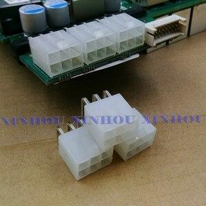 50pcs 6-pin connettore di alimentazione connettore looper per Asic minatore antminer S9 S9k S9j l3 DR3 T9 Z11 z9 B7 X3 A4 A9 M3 Z1PRO Eibt E10.2(China)