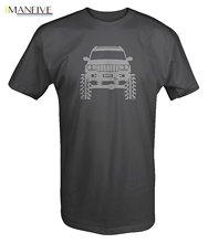 Newest 2019 Men T-Shirt Fashion Jeep Grand Cherokee WJ Lifted Offroad 4x4 T Shirt O Neck Tee Short Sleeve