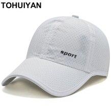 [TOHUIYAN] Brand Fashion Baseball Hat Men Outdoor Sports Caps Women Summer Breathable