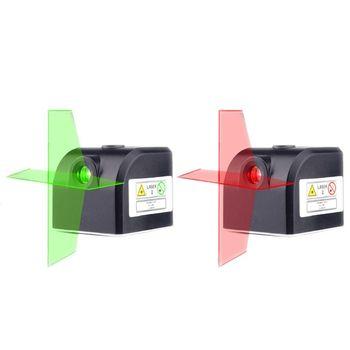 Tamaño de bolsillo nivel láser rojo verde Cruz-línea Horizontal Vertical Super Mini portátil recargable nivel láser