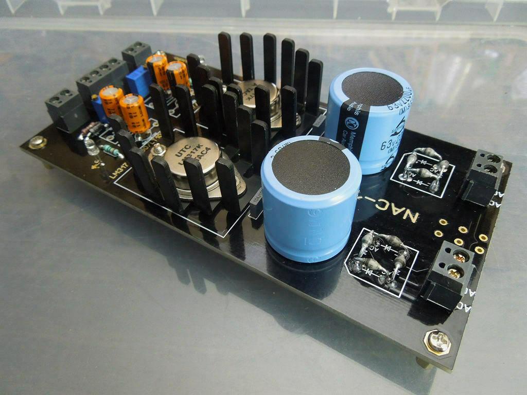 LM317 Adjustable Power Supply Board 2 Way DC2V 37V Base On NAIM HICAP PSU L21 9|Amplifier| |  - title=