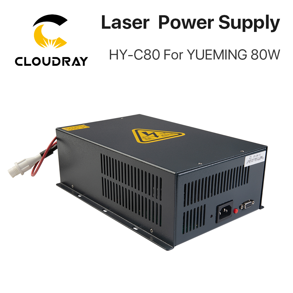 Cloudray HY-C80 CO2 Laser Power Supply 80W For YUEMING Engraving / Cutting Machine