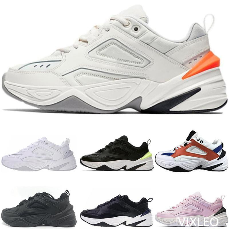2019 NEW airs Monarch the <font><b>M2K</b></font> Tekno Dad Sports Running Shoes Off Top quality Women Mens Designer Zapatillas White Sports Trainer image