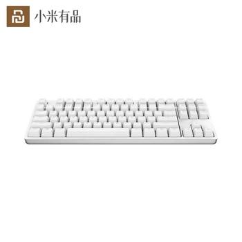 Youpin Keyboard 2 Yuemi 87 Keys Mechanical LED TTC Red Switch Backlight Game Keyboard Backlit Aluminium Alloy For Gamer Laptop