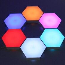 Wall-Light Quantum Hexagonal Decor Combination Light-Pattern Remote-Controll Touch Sensitive