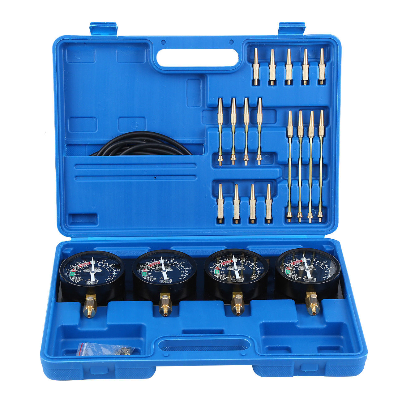 Fuel Vacuum Carburetor Synchronizer Carb Balancer Sync Gauge Set Auto Tool 4 Kit For CB GS KZ 550 650 750 850 Motorcycle