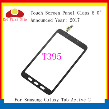 10Pcs/lot For Samsung Galaxy Tab Active 2 8.0 T395 Touch Screen Digitizer Panel Glass Lens SM-T395 LCD Front Sensor Replacement