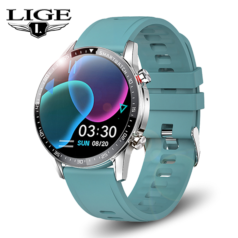 LIGE Smart Watch Men Bluetooth Call Smartwatch Women Heart Rate Monitoring Sport Fitness Bracelet Smart Clock For Android iOS