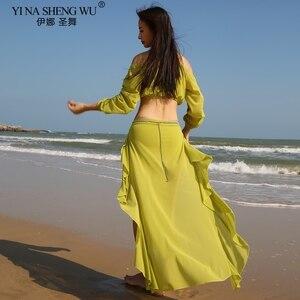 Image 5 - Phu Nhân Mới Múa Bụng Trang Phục Thực Hành Múa Bụng Bộ Mặc Váy Lưới Phương Đông Nhảy Múa Bụng & Váy Nhảy Múa đầm Phù Hợp Với