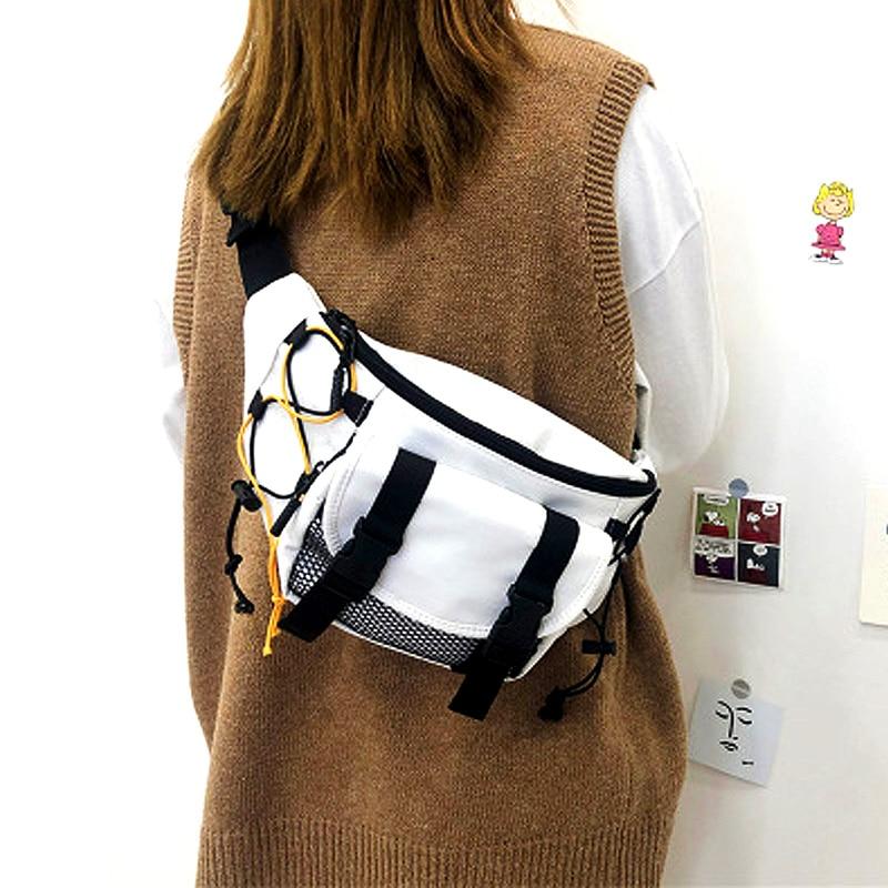 Unisex Chest Bags For Men 2020 Tactical Casual Shoulder Bag Tactical Waist Bag Women Travel Packs