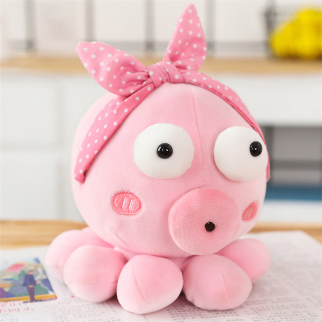 1PC Creative Cute Octopus Plush Toys Octopus Whale Dolls & Stuffed Toys Plush Children Baby Gifts