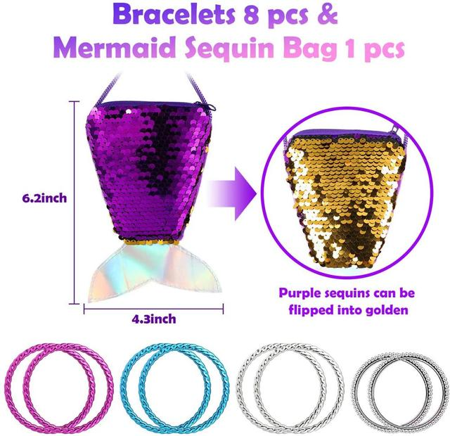 62Pcs Jewelry Accessories Princess Jewelry Pretend Dress Up Necklaces Rings Earrings Jewelry Sets for a Beautiful Girls 3