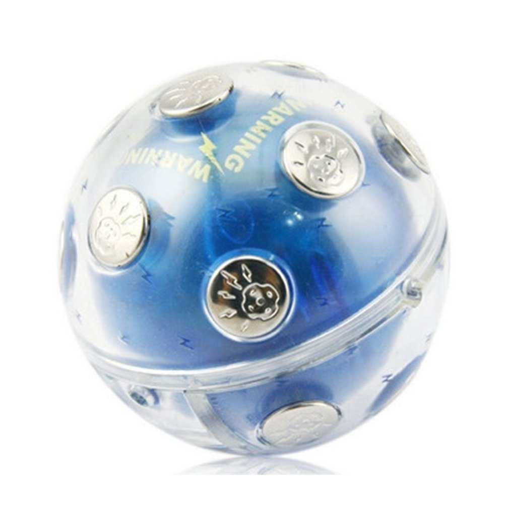 Entertainment Shock Ball Neutral Plastic Case With Metal Contacts Tricky Electric Ball Vent Electronic Toys