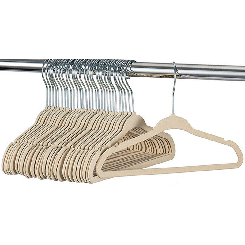 360 Swivel Hanger Hook Velvet Hangers Nonslip Clothes Hangers Ultra Thin Clothes Racks 28cm Kids Children Coat Organizer 5PCs