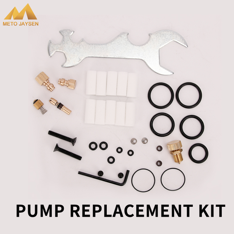 Air Pump Accessories Kits High Pressure Pump Replacement Kit Spare Parts Fix Box Copper Piston Wrench Bleeder Screw 37pcs/set