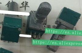 5 шт./лот RK097G точный двойной потенциометр B50K длина ручки 15 мм f с средней точкой