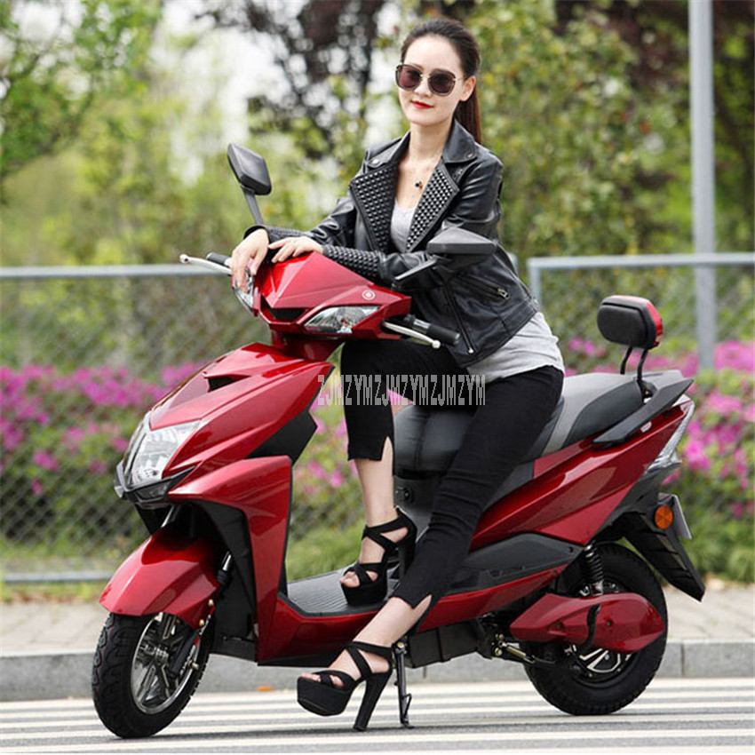 48V 20A/60V 22A/72V 35.3A Electric Motorcycle 50km/90km/135km Mileage High-Speed Two-wheel Adult Men/Women Electric Motorbike 1