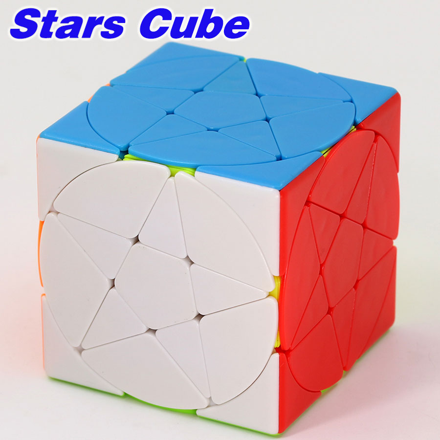 Magic Cube Ziicube Puzzles 3x3 Stars Cube Puzzle 3x3x3 Star Shape Cube Professional Educational Toy Game Cube For Kids And Adult