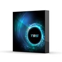 T95 h616 caixa de tv android 10.0 google assistente de voz netflix youtube hd 6k android caixa de tv t95 caixa de tv inteligente 4gb 64gb conjunto caixa superior Conversor de TV     -
