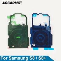 Aocarmo Ladegerät Empfänger MFC Drahtlose Lade Induktion Spule NFC Modul Flex Kabel Für Samsung Galaxy S8/S8 + G950 s7 S6 Rand