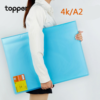 A2 Display book 20 pages engineering drawing book 4 open folder 4K grass picture book folder storage folder Photo album