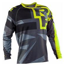 цена на 2019 Moto Jersey motocross Off road ATV Racing T-Shirt ATV AM RF Bicycle Cycling Bike downhill Jersey motorcycle MTB DH MX Ropa