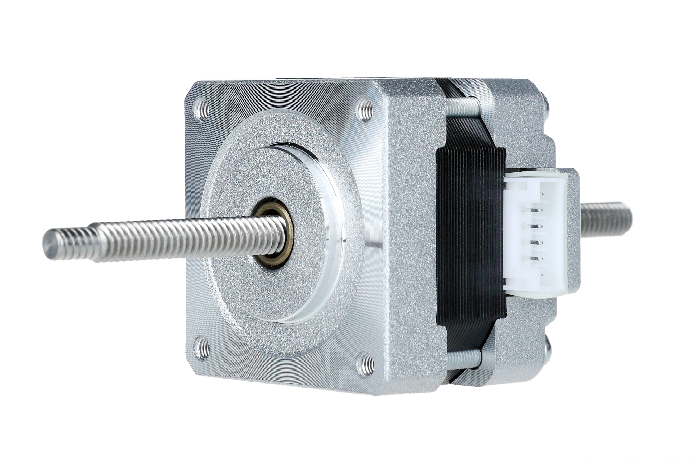 1PC Nema 16 Stepper Linear Motor of 100mm Stoke Length 39BYGL215A,12VDC,0.4A,0.21Nm torque