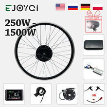 EBike Kit 48V 1500W 1000W Vorne KT LCD3 LCD8H Display Licht Hub Motor Rad e-bike elektrische Fahrrad Conversion Kit