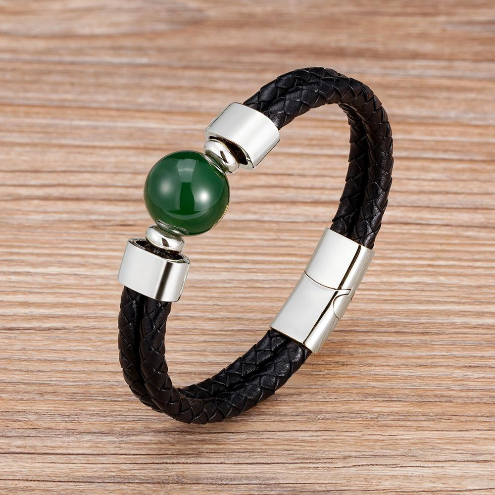Silver-Green Agate