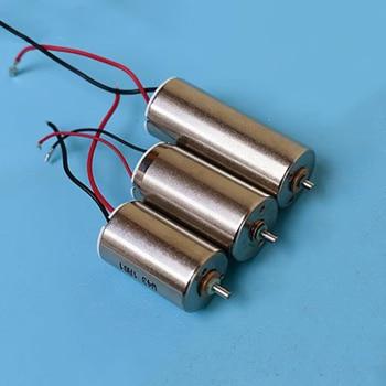 Boro de hierro de neodimio imán fuerte Motor DC DC6V 12V precisión Motor Sin Núcleo exterior diámetro 12MM cinco Rotor de polo