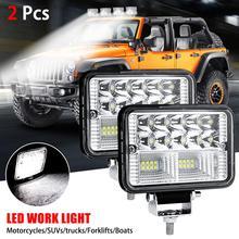 78W Waterproof IP67 Car LED Work Light Bar Driving Lamp for Offroad Boat Tractor Truck SUV Fog Light Headlight for ATV Led Bar
