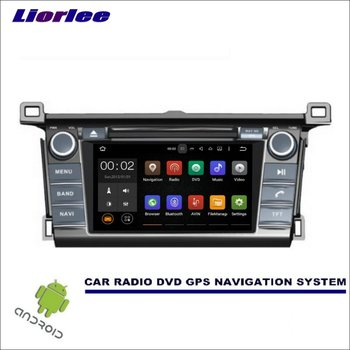 Liorlee For Toyota Rav4 Rav 4 2013-2016 CD DVD GPS Player Navi Radio Stereo Car Multimedia Navigation Wince/Android System image