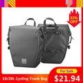 10/20L велосипедная сумка для багажника  большая емкость  Дорожный Чехол для велосипеда  водонепроницаемая многофункциональная сумка на плеч...