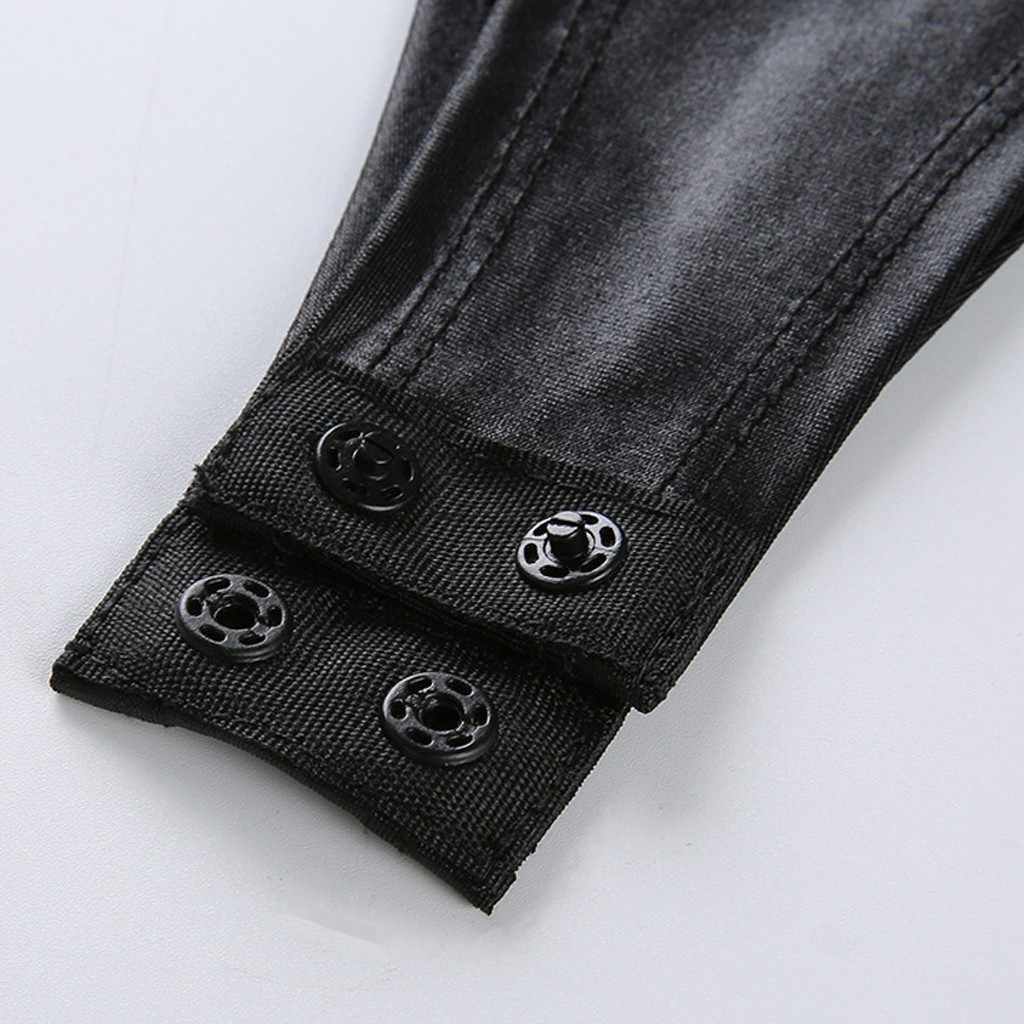 Jumpsuit ผู้หญิงเซ็กซี่ Tops One ชิ้น Bodysuit Teddy ชุดชั้นใน Clubwear เซ็กซี่คลับชุดหญิงเซ็กซี่ TOP 2020 ใหม่