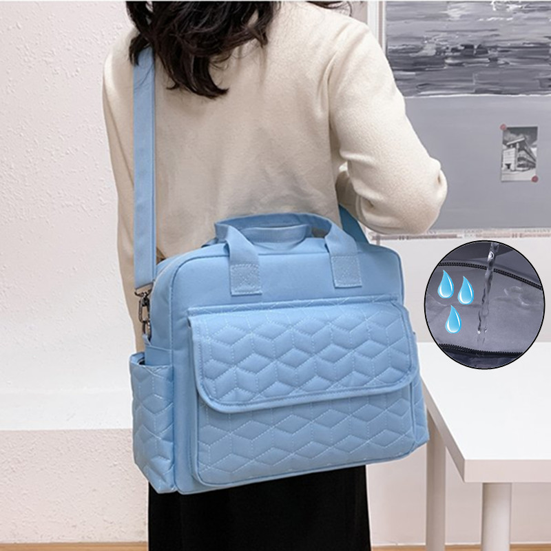 Baby Diaper Bag Waterproof Bebe Large Mom Reusable Nappy Cloth Organizers Zipper Clothes Maternity Travel Storage Dry Wet Pouch