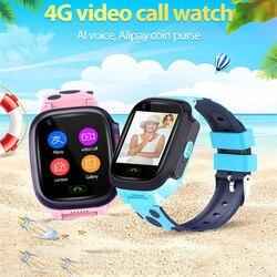 Y95 smartwatch z funkcją telefonu GPS wodoodporny dzieci inteligentny zegarek dziecko 4G Wifi antil-lost SIM lokalizacja smartwatch tracker HD Video Call