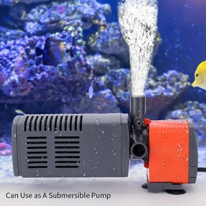 Внутренний 3-в-1 аквариум фильтр EU Plug аквариумных рыб черепаха бака встроенный фильтр насоса с фильтровальные тампоны простой Управление и Maintenan