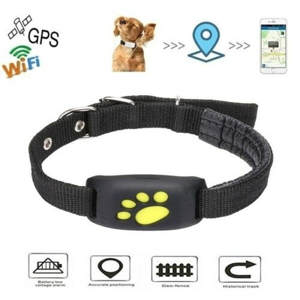 Waterproof Dog GPS Cat Pet Finder Tracker GSM Locator Collar Tracking Alarm Pet gps Smart Tracker