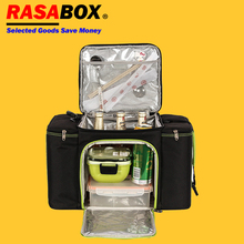 купить RASABOX - 27 Liter Large Capacity Insulated Food Delivery Bags and Catering Bags for Food Delivery, Restaurant Takeout по цене 1888.8 рублей