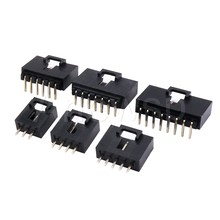10 sztuk złącze Dupont MX2.54 jeden rząd z klamrą pasa 2.54MM prosty Pin Header zakrzywione Pin Header 2P 3P 4P 5P 6P-12P