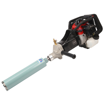 Portable Gasoline Drill 130 Engineering Petrol Pickax Stone Borehole Equipment Water Rig Reaming Tools Electric Pick