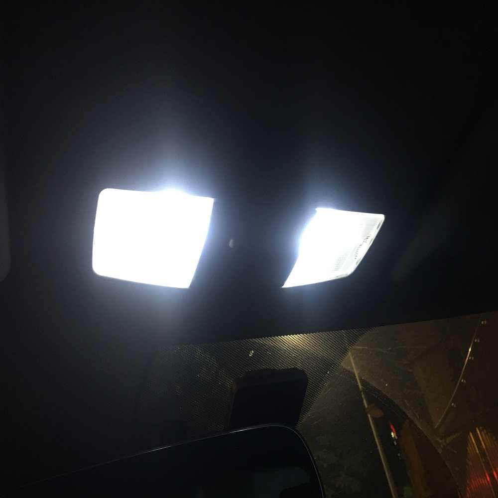 11 セットホワイト Led ライトインテリアパッケージ 10 & 31 ミリメートル地図ドームマツダ 3 5 6 B4000 トリビュート 3 スポーツ CX-5 CX-7 CX-9 1998-2019