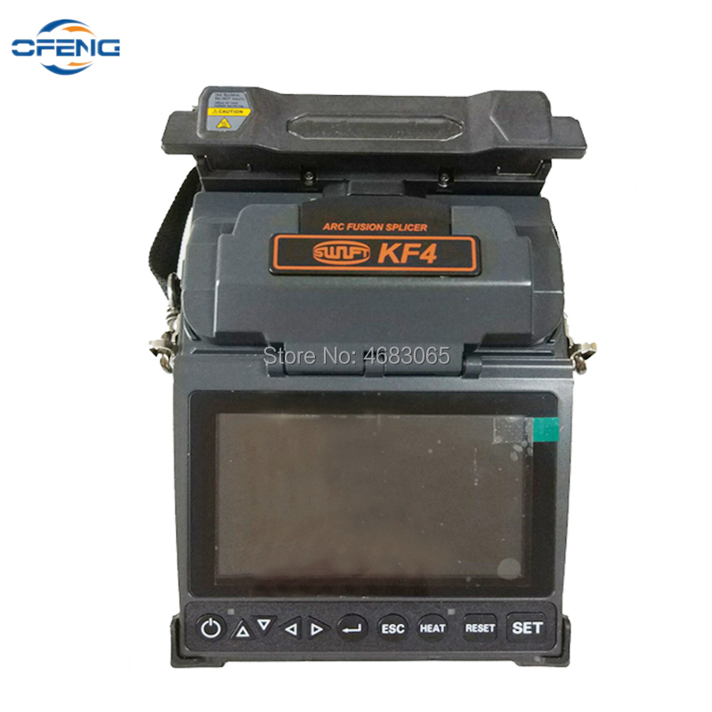 Free shipping Splicing-Machine Fiber-Optic Fusion-Splicer FTTH Handheld <font><b>ILSINTECH</b></font> KF4 Swift English-Menu image