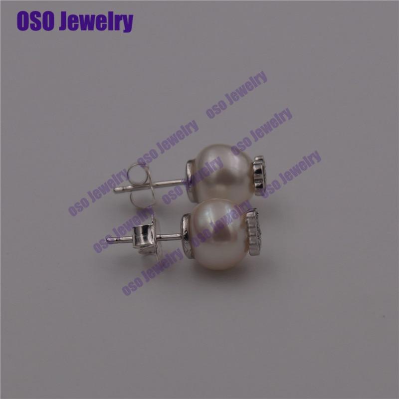 pendientes plata de ley 925 mujer silver 925 stud earrings for women fine jewelry