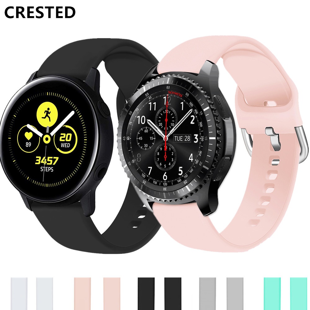 Active2 Strap For Samsung Galaxy Watch Active 2 46mm 42mm Gear S3 Frontier/gear Sport 20mm 22mm Watch Band Amazfit Bip
