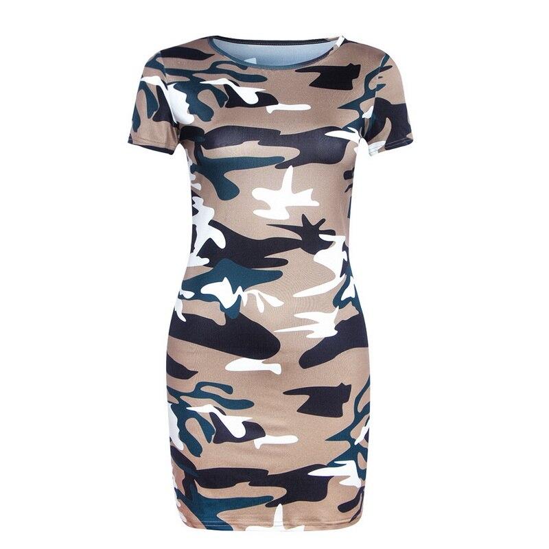 Hdd813d4762b044eeb6bbc553e0a079a77 Festy Kary New Arrival 2018 Women Dress O Neck Sleeveless Cartoon Print Camouflage Color Elegant Sexy Ladies Dresses