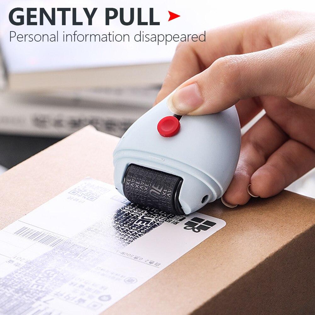 Защитный роликовый штамп, защита личной безопасности, роликовый Устранитель информации, код сообщений, защита данных, горячая Распродажа