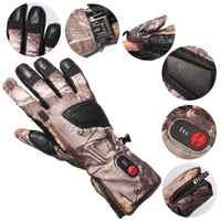 RETTER S32 heizung handschuhe rinde typ camouflage jagd handschuhe unisex winter ski reiten sport heizung warm